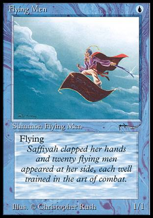 MTG's Flying mechanic